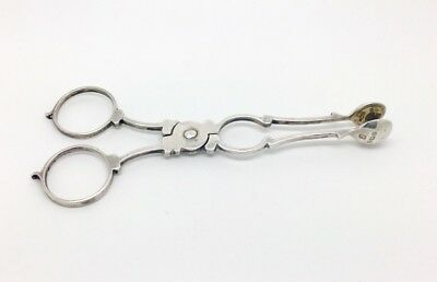 Antique Sterling Silver A Pair Of Sugar Nips Sheffield 1912-13
