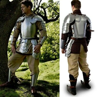 Warrior Metal Armour Set, Ideal for Costume or LARP Events