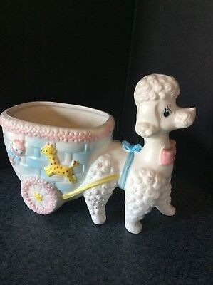 Napco Poodle Planter For Baby