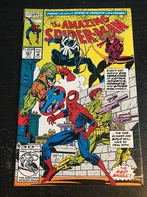 Amazing Spider-Man#367 Incredible Condition 9.0(1992) Solo, Evil Versions!!