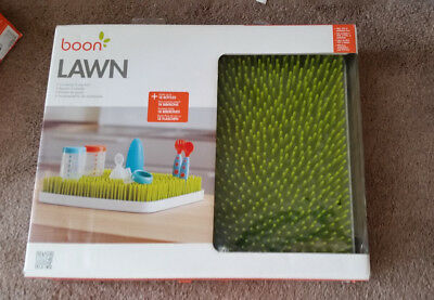 Boon Lawn Countertop Drying Rack Green For Up To 18 Bottles