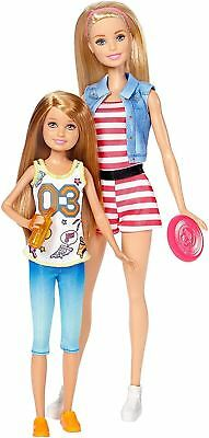 Barbie Doll Sisters Barbie & Stacie Toy 2 Pack DWJ64