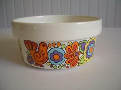 """Vintage Retro 1960's Lord Nelson Pottery - Gaytime - 5.5"""" Bowl"""