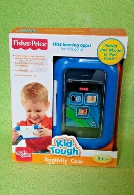 Fisher Price KidTough Apptivity Case Protect Iphone Ipod Touch 3G/3GS, 4/4S BLUE