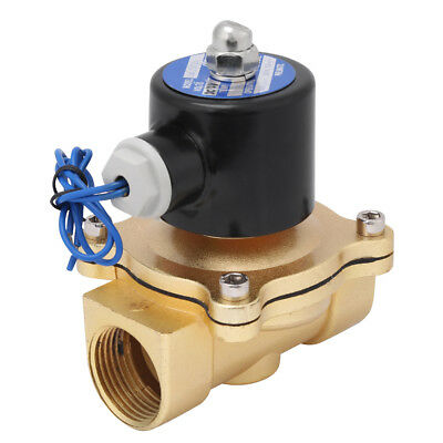 DC12V 1 inch Electric Solenoid Valve Magnetic Normally Closed for Water Air Gas