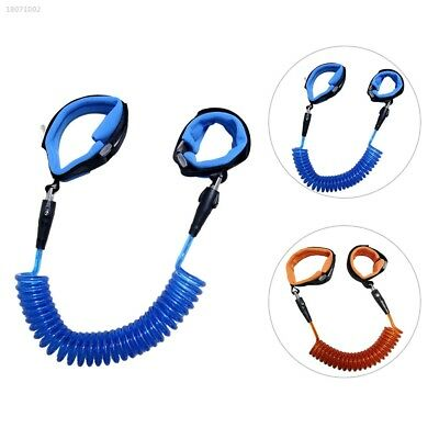 Children Safety Leash Anti Lost Wristbands Harness Strap Traction Rope Blue 2B6B