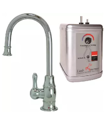 Mountain Plumbing MT1850DIY-NL/PVDPN Hot Water Faucet with Tank Polished Nickel