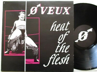 "O VEUX: Heat Of The Flesh – 12""-EP - BEL 1985 STOKER REC. new wave/post punk/EBM"