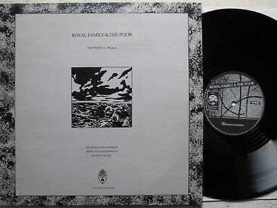 "ROYAL FAMILY & THE POOR: The Project-Phase 4 – 12""-EP - UK 1988 new wave/gothic"
