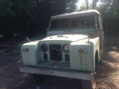 Vintage classic landrover