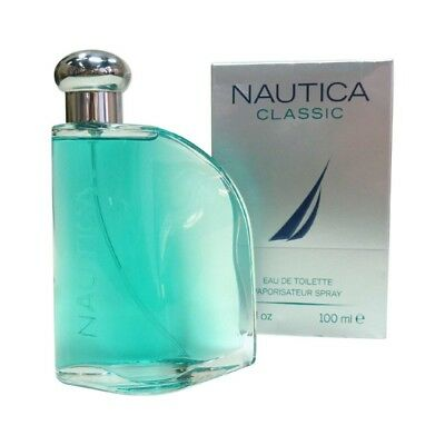 Nautica Classic Perfume for Men Eau de Toilette Spray  3.4 oz  NIB