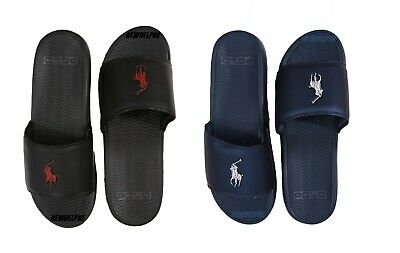 2cab7c97e217 NWT Polo Ralph Lauren Men s Big Pony Logo Flip Flops Sandals Slippers