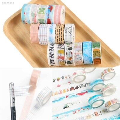 Washi Tape Traveler Series Hand Account Accessories Affixed To Albums 9FAC