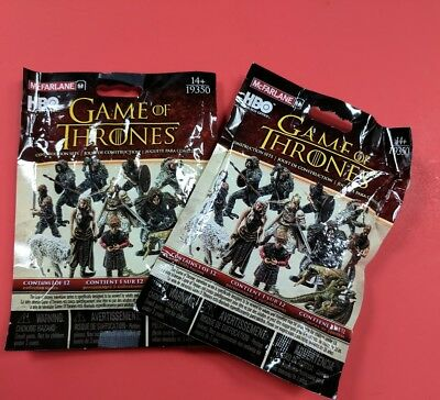 McFarlane Game of Thrones~ Series 1~Mystery Bags  (Lot of 2, unopened)