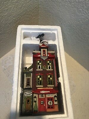 Used Dept 56 Christmas in the City Heritage Village WONG'S IN CHINATOWN