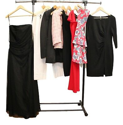 Lot of 10 Designer Clothing Size 10 Vera Wang, Diane Von Furstenberg and more