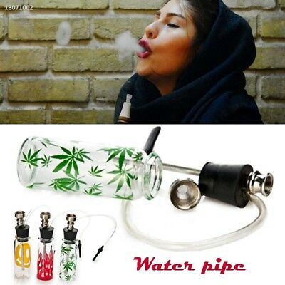 Shisha Hookah Water Tobacco Smoking Pipe Filter Cigarette Holder Bottle 26BB