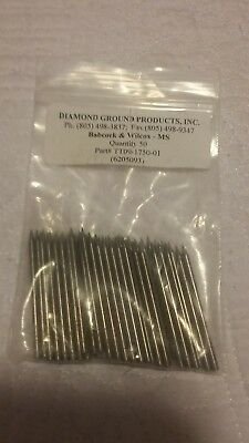 "3 Diamond Ground Stinger TIG Tungsten Electrodes Pure Tungsten GREEN 1//16/""x1.5/"""