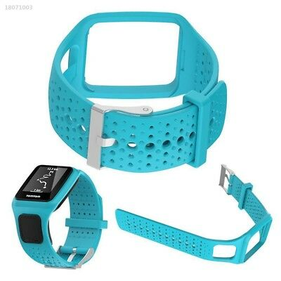 Replacement Silicone Wrist Strap for TomTom Runner Cardio Multi Sport GPS 79D3