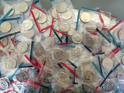 10 Different Old Rare BU US Kennedy Half Dollars in Mint cello, Coin Mixed Lot
