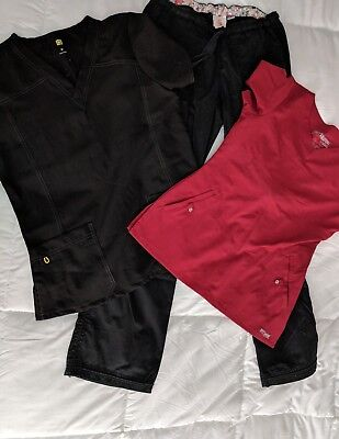 Lot of Women's Scrubs Koi Lindsey Pants (Small Tall) Grey's Anatomy and Wink (M)