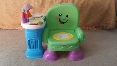 Fisher-Price Laugh & Learn Musical Learning Chair Toy