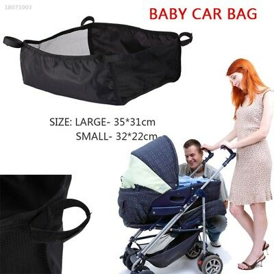 Universal Baby Stroller Pushchair Buggy Bottom Basket Storage Bag Organizer 9FE6