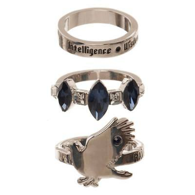 Harry Potter 3 Ring Set Ravenclaw Bioworld INT Rings