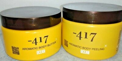 Set for 417 Aromatic Body Butter and Peeling Made in Israel.