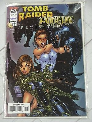 Tomb Raider Witchblade Revisited #1 1998 Bagged and Boarded - C3045