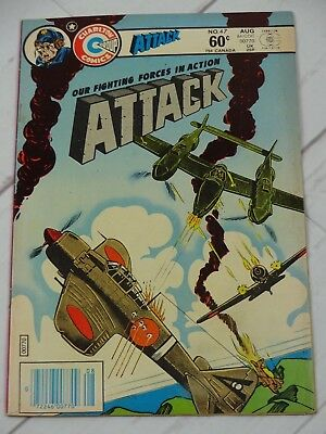 Attack (5th Series Charlton) #47 1984 Bagged and Boarded - C2984