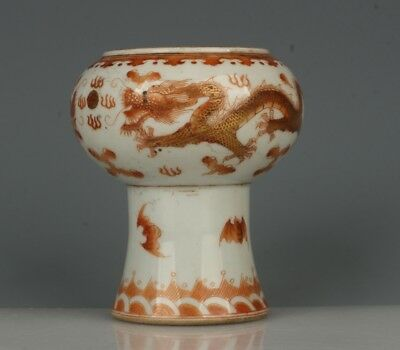 Chinese Exquisite Handmade Dragon pattern porcelain pot