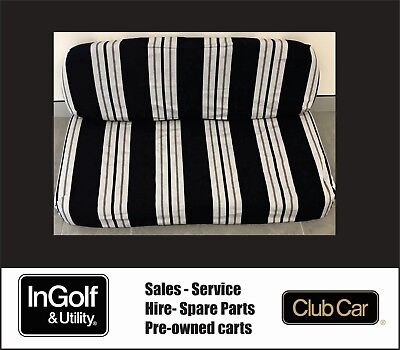 Club Car Golf Cart Buggy DS MODEL SEAT COVER BLUE AND GREY STRIPE