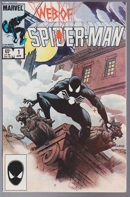 Web of Spider-Man #1 NM.  Original Owner.  (Apr 1985, Marvel)