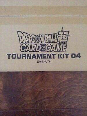 NEW DBZ DBS Dragon Ball Z Super Card Game CCG Tournament Kit vol 4
