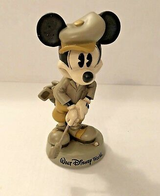 Walt Disney World Mickey Mouse Vintage Bobblehead Playing Golf