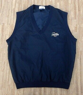 418186097a5 John Deere Classic Golf Pullover Vest Top ~ Men s Large L ~ PGA Tour Event  Blue