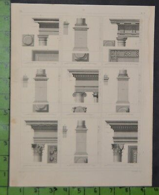 1849 Bilder Atlas Print - Roman Architecture 12x9 Inches