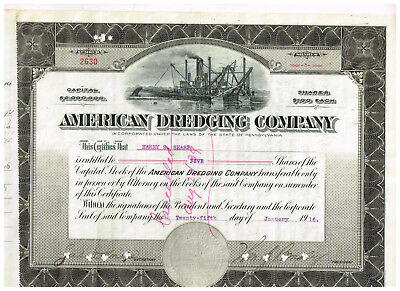 American Dredging Co., 1916