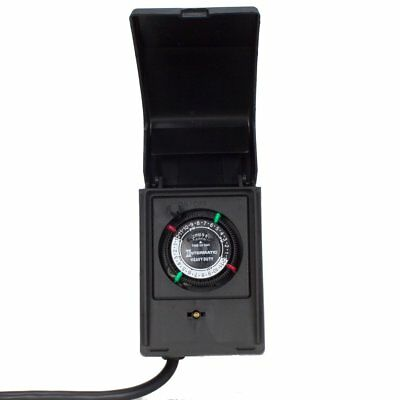 Intermatic P1121 Heavy Duty Outdoor Timer 15 Amp/1 HP for Pumps, Aerators,