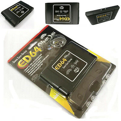 16GB SD Card N64 ED64 Plus Game Save Device Cartridge Adapter New OS Version#USA