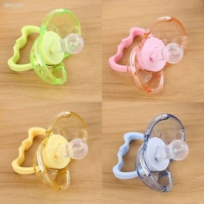 Baby Automatic Closing Pacifier Calm Mouth Teether Strong Nipple Soother 0415