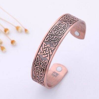 Ancient Amulet Norse Celtic Knot Slavic Star of Russia Health Magnetic Bracelet