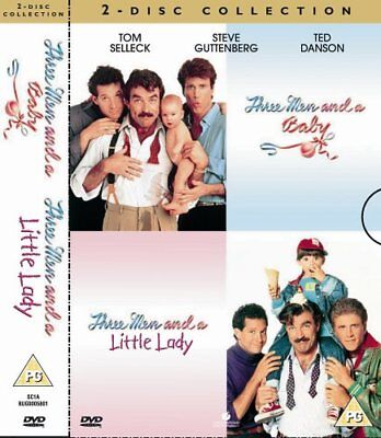 Three Men And A Baby  Three Men And A Little Lady [DVD][Region 2]