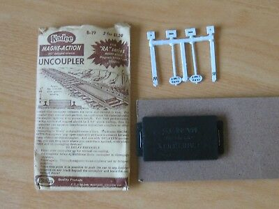 Kadee Magna Action Uncoupler. 1 Pair. HO Scale. Original Packaging & Instruction