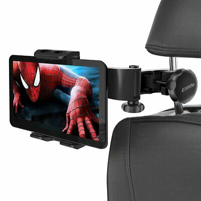 "Adjustable Car Headrest Seat 4-12"" iPad Holder Tablets Mount Back Seat Bracket"