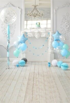 Baby Birthday Portrait Photography Backdrop Photo Studio Background 5x7ft
