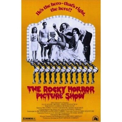 """ROCKY HORROR PICTURE SHOW POSTER - MOVIE - 91 x 61 cm 36"""" x 24"""""""