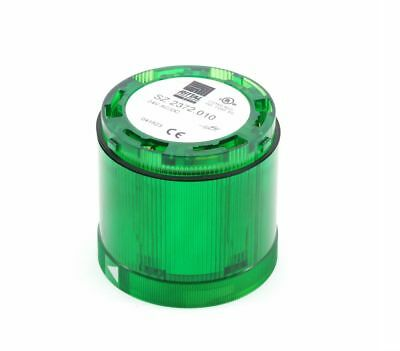 RITTAL SZ 2372.010 SIGNER dauerlicht-element LED VERT GREEN LIGHT 24V AC/DC