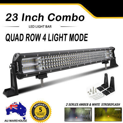 "23inch LED Light Bar Spot Flood Offroad Driving Work 4x4 Truck 20"" 22'' 23"" 12V"